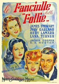 Ziegfeld Girl - 11 x 17 Movie Poster - Italian Style A