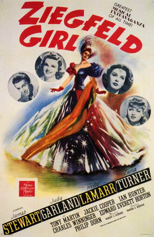 Girls Movie Posters Ziegfeld Girl