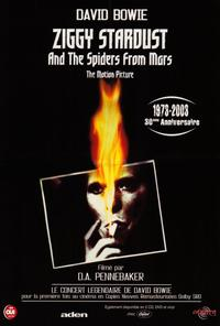 Ziggy Stardust and the Spiders from Mars - 27 x 40 Movie Poster - French Style A