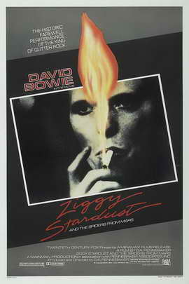 Ziggy Stardust and the Spiders from Mars - 27 x 40 Movie Poster - Style A
