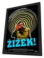 Zizek! - 11 x 17 Movie Poster - Style A - in Deluxe Wood Frame