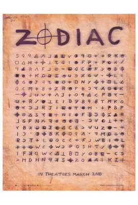 Zodiac - 27 x 40 Movie Poster - Style B