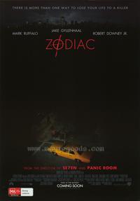 Zodiac - 27 x 40 Movie Poster - Style E