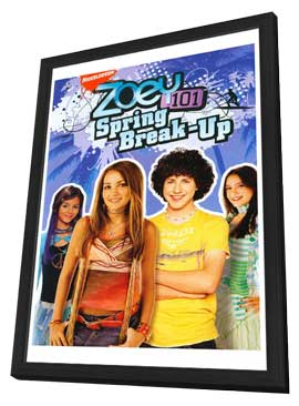 Zoey 101 - 11 x 17 Movie Poster - Style A - in Deluxe Wood Frame