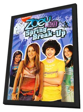 Zoey 101 - 27 x 40 Movie Poster - Style A - in Deluxe Wood Frame