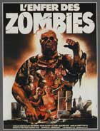 Zombi 2 - 11 x 17 Movie Poster - Belgian Style A