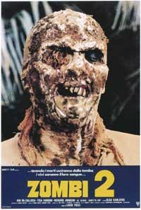 Zombi 2 - 11 x 17 Movie Poster - Italian Style A