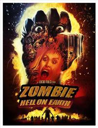 Zombi 3 - 11 x 17 Movie Poster - Danish Style A