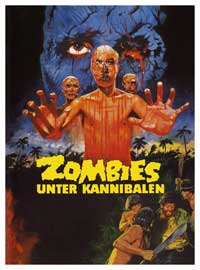 Zombi Holocaust - 11 x 17 Movie Poster - German Style A