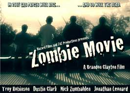 Zombie Movie - 11 x 17 Movie Poster - Style A