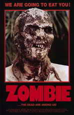 Zombie - 11 x 17 Movie Poster - Style A