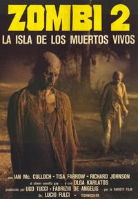 Zombie - 11 x 17 Movie Poster - Spanish Style A