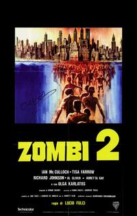 Zombie - 11 x 17 Movie Poster - Style D