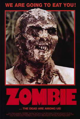 Zombie - 27 x 40 Movie Poster - Style A