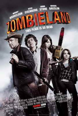 Zombieland - 27 x 40 Movie Poster - UK Style A