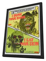 Zombies - 11 x 17 Movie Poster - Style A - in Deluxe Wood Frame
