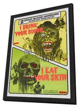Zombies - 27 x 40 Movie Poster - Style A - in Deluxe Wood Frame