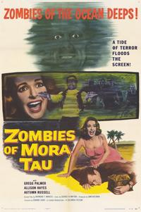 Zombies of Mora Tau - 11 x 17 Movie Poster - Style A