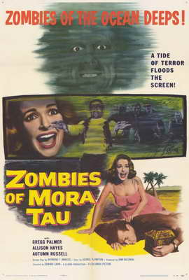 Zombies of Mora Tau - 27 x 40 Movie Poster - Style A