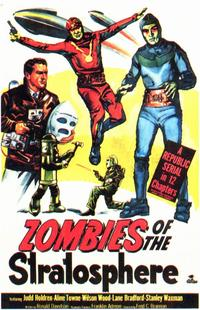 Zombies of the Stratosphere - 11 x 17 Movie Poster - Style A