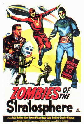 Zombies of the Stratosphere - 27 x 40 Movie Poster - Style A