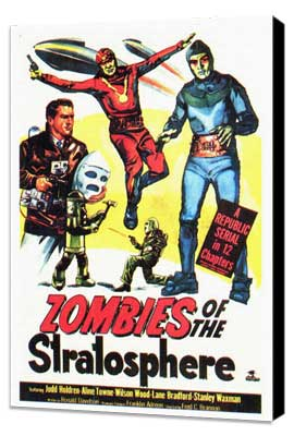 Zombies of the Stratosphere - 27 x 40 Movie Poster - Style A - Museum Wrapped Canvas