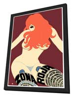 Zona Roja - 27 x 40 Movie Poster - Foreign - Style A - in Deluxe Wood Frame