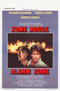 Zone Red - 11 x 17 Movie Poster - Belgian Style A