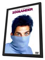 Zoolander - 11 x 17 Movie Poster - Style D - in Deluxe Wood Frame