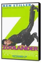 Zoolander - 11 x 17 Movie Poster - Style A - Museum Wrapped Canvas