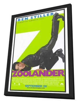 Zoolander - 27 x 40 Movie Poster - Style A - in Deluxe Wood Frame