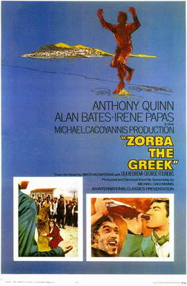 Zorba the Greek - 11 x 17 Movie Poster - Style A