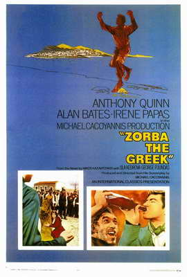 Zorba the Greek - 27 x 40 Movie Poster - Style A