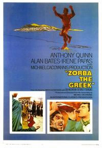 Zorba the Greek - 43 x 62 Movie Poster - Bus Shelter Style A