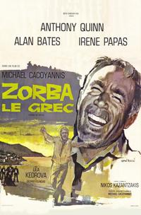 Zorba the Greek - 11 x 17 Movie Poster - French Style A