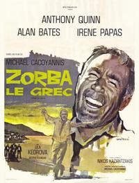 Zorba the Greek - 47 x 62 Movie Poster - French Style A