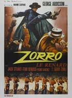 Zorro - 11 x 17 Movie Poster - French Style A