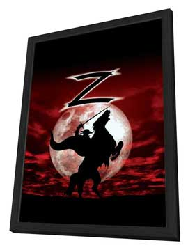 Zorro - 27 x 40 Movie Poster - Style A - in Deluxe Wood Frame