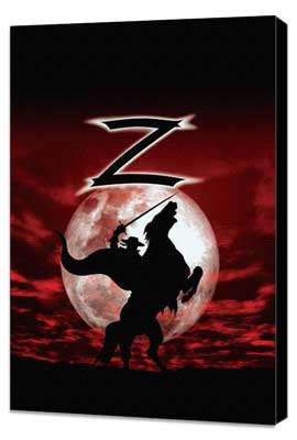 Zorro - 27 x 40 Movie Poster - Style A - Museum Wrapped Canvas