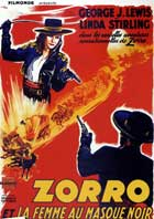 Zorro's Black Whip - 11 x 17 Movie Poster - French Style C