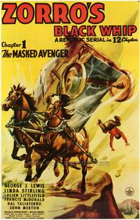 Zorro's Black Whip - 27 x 40 Movie Poster - Style A