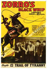 Zorro's Black Whip - 27 x 40 Movie Poster - Style B