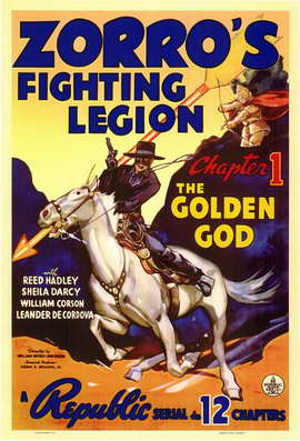 Zorro's Fighting Legion - 11 x 17 Movie Poster - Style A