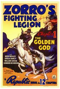 Zorro's Fighting Legion - 27 x 40 Movie Poster - Style A
