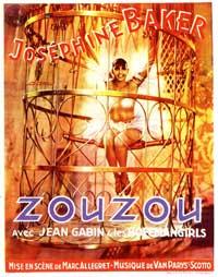 Zouzou - 11 x 17 Movie Poster - French Style A