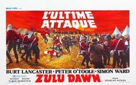 Zulu Dawn - 27 x 40 Movie Poster - Belgian Style A