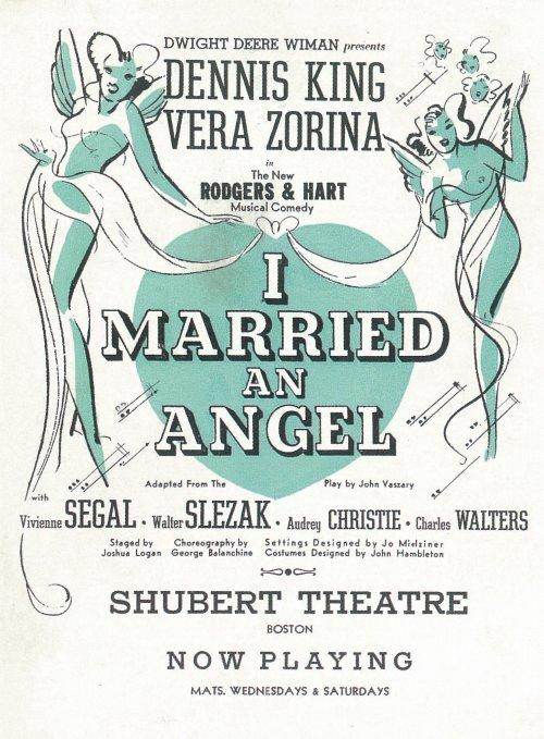 I Married an Angel movie