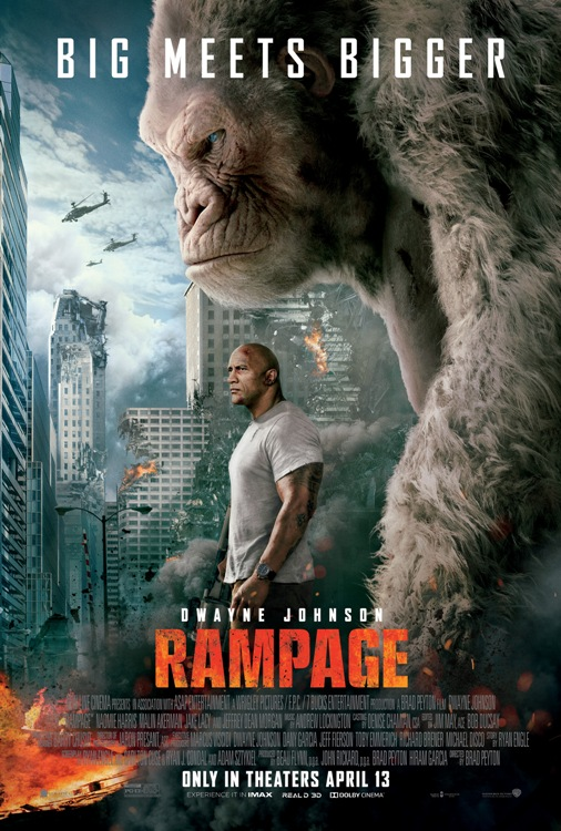 Rampage Movie Posters From Movie Poster Shop